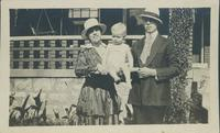 Harry and Helen and Robbie Urie, July 25, 1917.