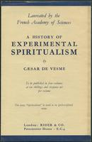 History of experimental spiritualism promotional flyer