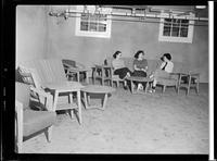 Freeport Sanatorium, women's residence interior [Published]