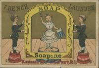 French Laundry and Soapine advertisement