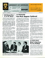 University of Waterloo Quarterly Report (1963 June)