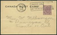 Canada Post Card (Jan 31, 1945)
