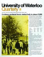 University of Waterloo Quarterly (1968 December)