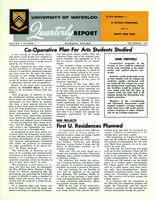 University of Waterloo Quarterly Report (1963 December)