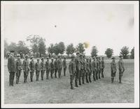 Cadet Corp in Waterloo Park, 1917