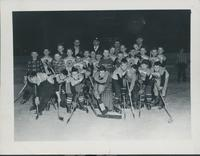 Mickey's team, 1956 & 1957.