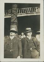 Clark, Vivian and Dad, April 14 1930.