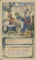 L. I. Fisk & Co. Soaps pamphlet