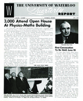 University of Waterloo Quarterly Report (1960 May)