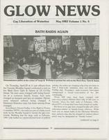 GLOW News: Newsletter of Gay Liberation of Waterloo (1982-1983)