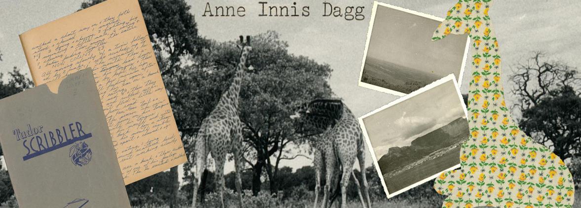 Anne Innis Dagg collage banner