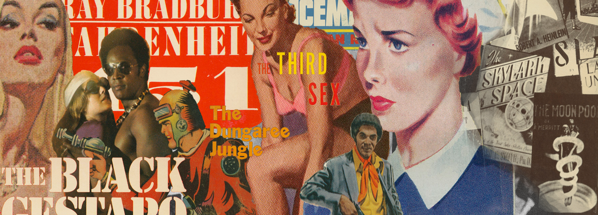 Pulp fiction covers banner